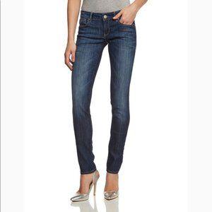 Mavi Dark Denim Lindy Mid Rise Skinny Jeans 29